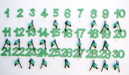 numbered keys
