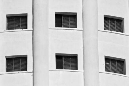 colony windows fiat Stock Photo
