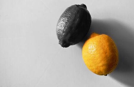 lemon lemon yellow with black
