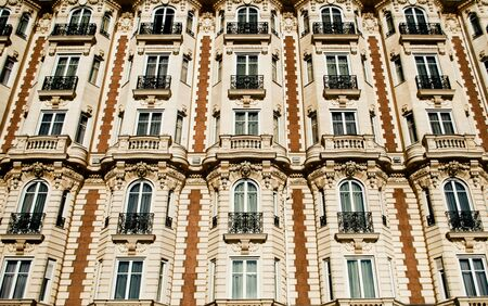 facade of a building in france