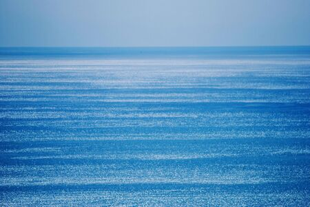 shades of blue on the horizon