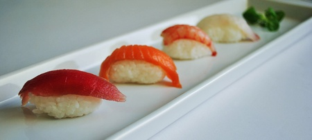 nigiri selection Stock Photo - 15829426