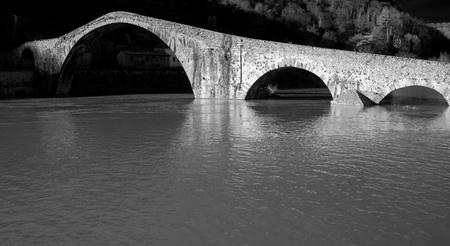 Devils Bridge in Lucca