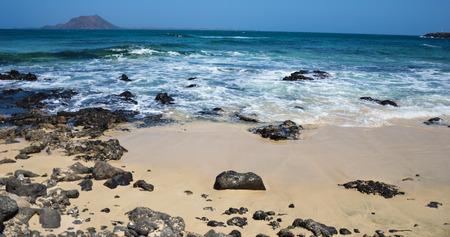 sunny day in Fuerteventura