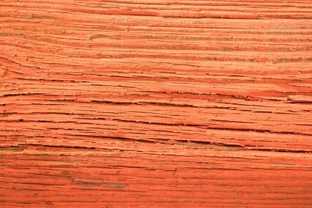 sunburned: Red painted, sunburned wall plank texture background