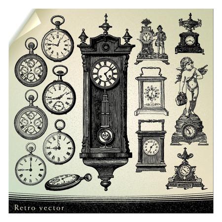 Antiguo reloj Foto de archivo - 26147063