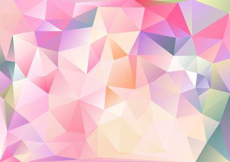 입체파 배경 아시아 생생한 여러 가지 빛깔의