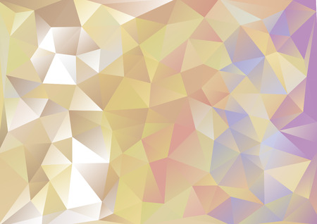 background kaleidoscope: Cubism background Gold and purple blue red