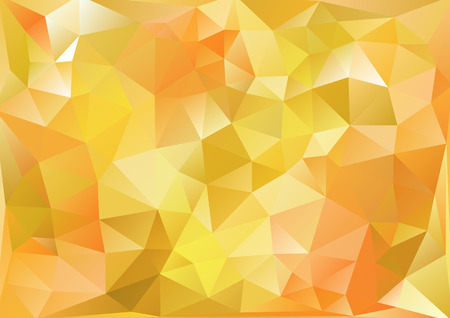 photographic effects: Cubism background Bitter yellow and orange