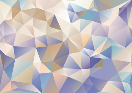 background kaleidoscope: Cubism background Cool navy blue and beige