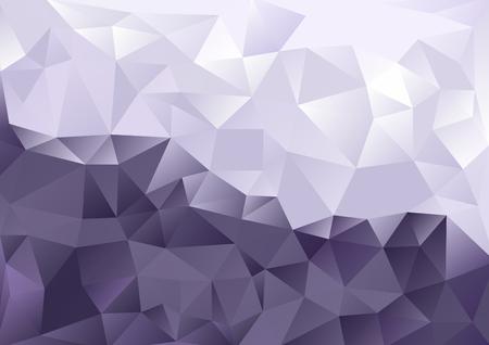 キュービズム背景クールな紫と白のツートン カラー