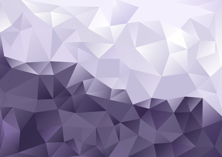 background kaleidoscope: Cubism background Cool purple and white two-tone color