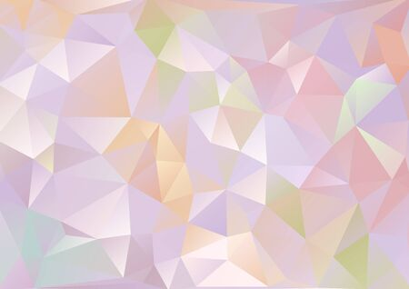 photographic effects: Cubism background Bitter and pale purple and multicolor Illustration