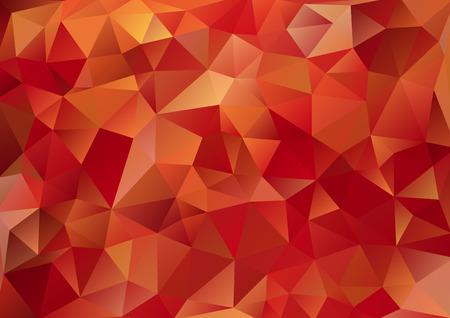Cubism background Bitter dark red  イラスト・ベクター素材
