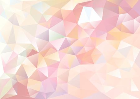 forme geometrique: Cubisme fond rouge pâle de flux