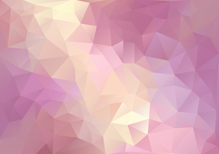 background kaleidoscope: Cubism background Red purple and pale yellow