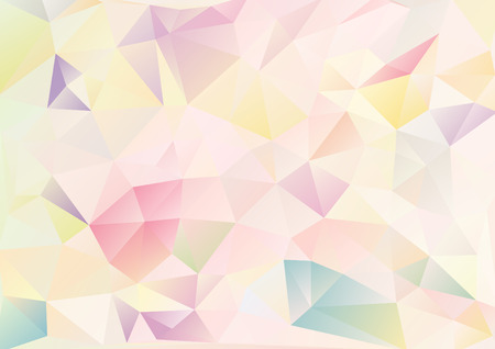 Cubism background Delicate Japanese style pattern