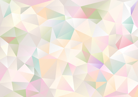 background kaleidoscope: Cubism background Pale and bitter multicolor
