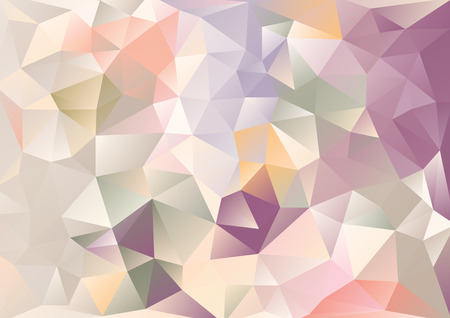 Cubism background Beige and purple and multicolor