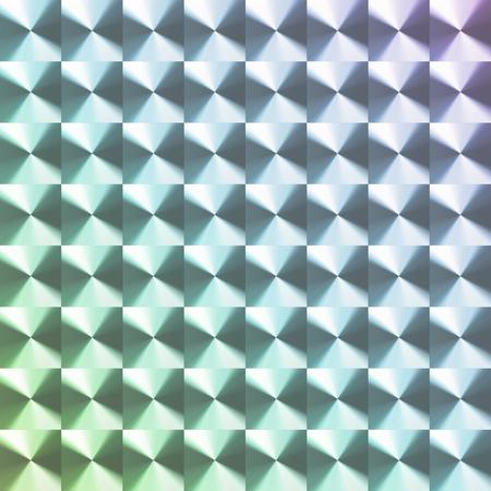 rainbow colored hologram sticker