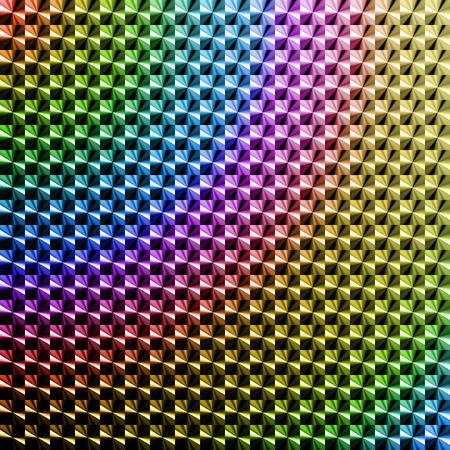 高彩度色ホログラム ステッカー