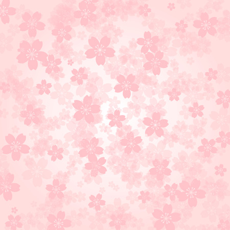 material flower: Petal background Pink cherry blossoms