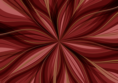 background radiation red drape flower