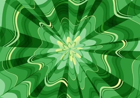 background radiation undulate Green