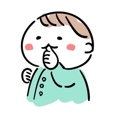 Babyvinger zuigen