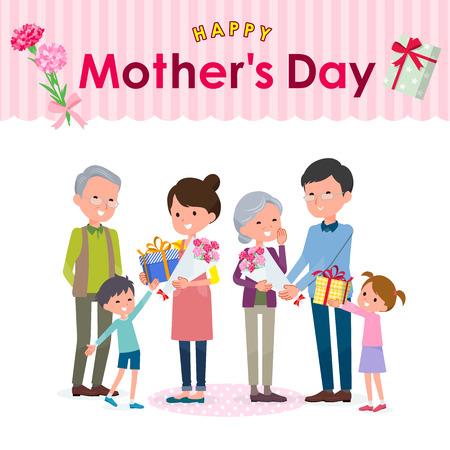 Mothers day image illustration