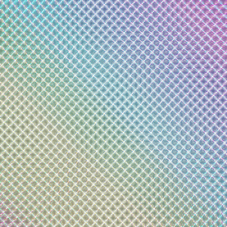 hologram sticker_Intersecting fine points Illustration