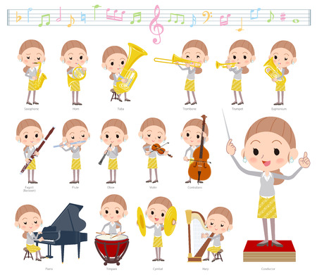 A set of women on classical music performances.