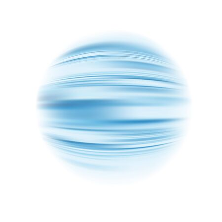 Rounded up blue abstract background material.Its vector art so its easy to edit. Stock Illustratie