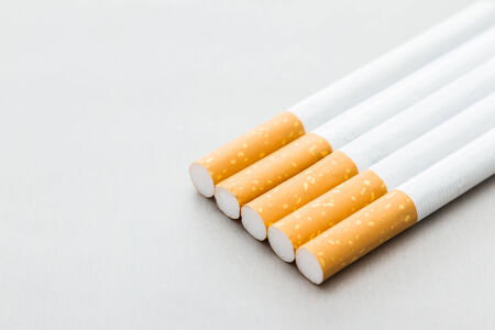 unhealthy living: cigarette