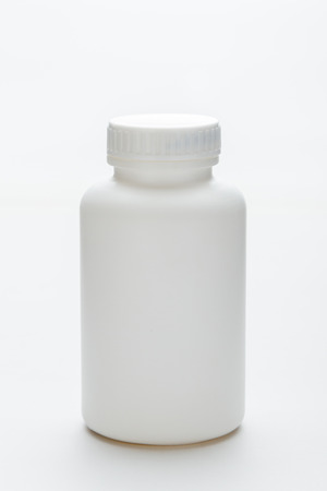 Blank Medicine Bottle  photo