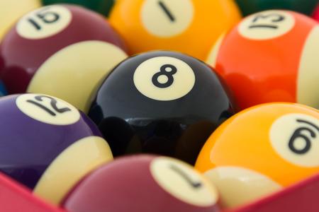 9 ball billiards: Billiard balls - pool