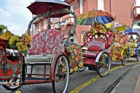 World Heritage Site- Melacca, Malaysia trishaw