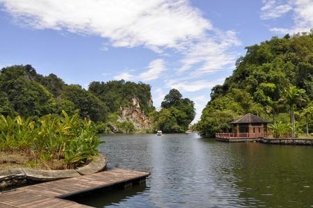 natural scene at Gunung Lang, Perak, Malaysia