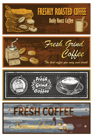 coffee sack: Coffee signs