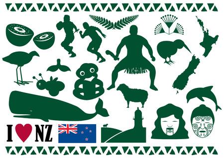 new zealand: New Zealand Icons