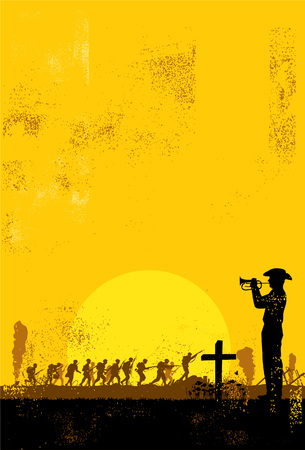 Illustration vectorielle Anzac jour