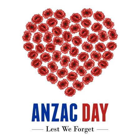 Anzac Day Banner, Vector