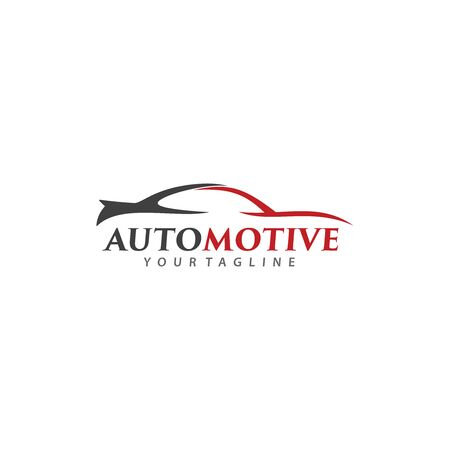 Automotive and Car Speed Logo Vector Illustration