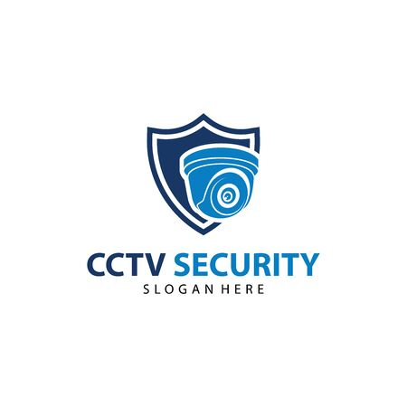 CCTV Vector Logo Design. Camera Logo Template Design. And Security System Logo Vector Archivio Fotografico - 149453268