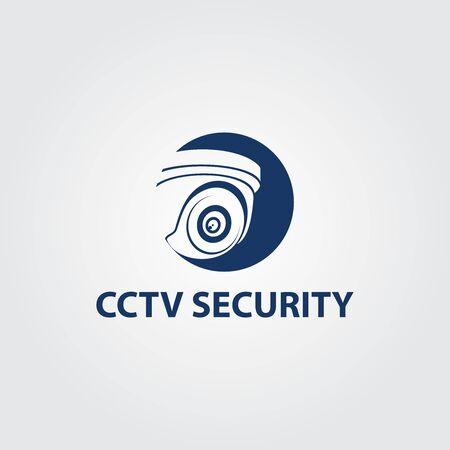 CCTV Vector Logo Design. Camera Logo Template Design. And Security System Logo Vector