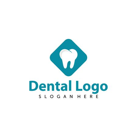 Dental Care Logo Vector. Creative Dentist Logo. Dental Clinic Logo Design for Medical Business / Company. Archivio Fotografico - 149453350