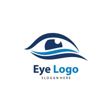Eye logo vector. Eye Clinic / Ophthalmologists icon, symbol, illustration design template Archivio Fotografico - 149453353
