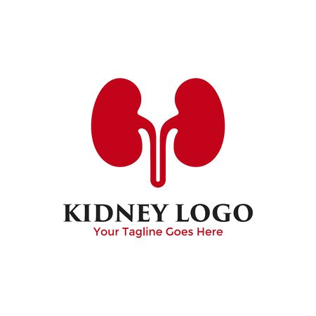 Kidney logo vector. Urology icon design template. Archivio Fotografico - 149453360