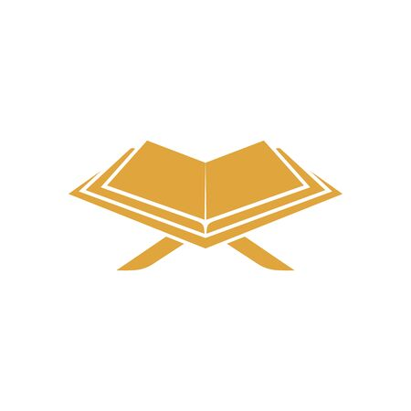 Al Quran logo vector, Islamic logo vector illustration, and book logo vector Archivio Fotografico - 149453379