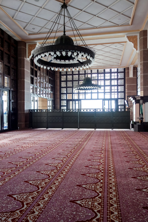 Putra Mosque inside at Malaysia